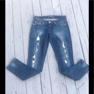 Levi's Distressed Jeans 5M W27